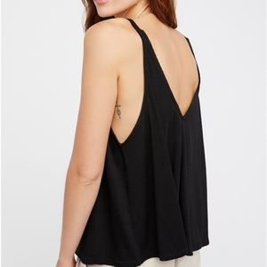 Free People Dani Tank - Black